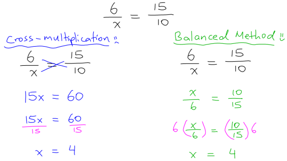 Blog - Math Shortcuts - Cross-Multiplication 02