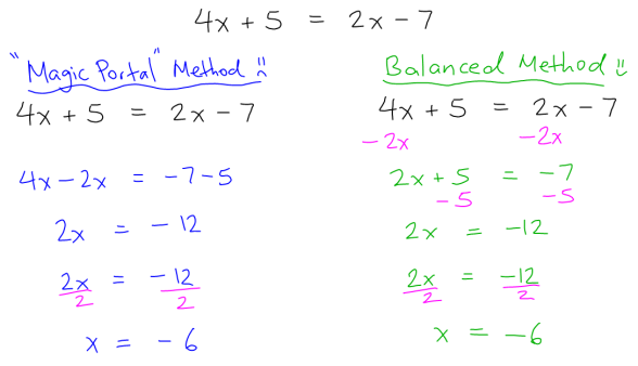 Blog - Math Shortcuts - Solving Equations 02